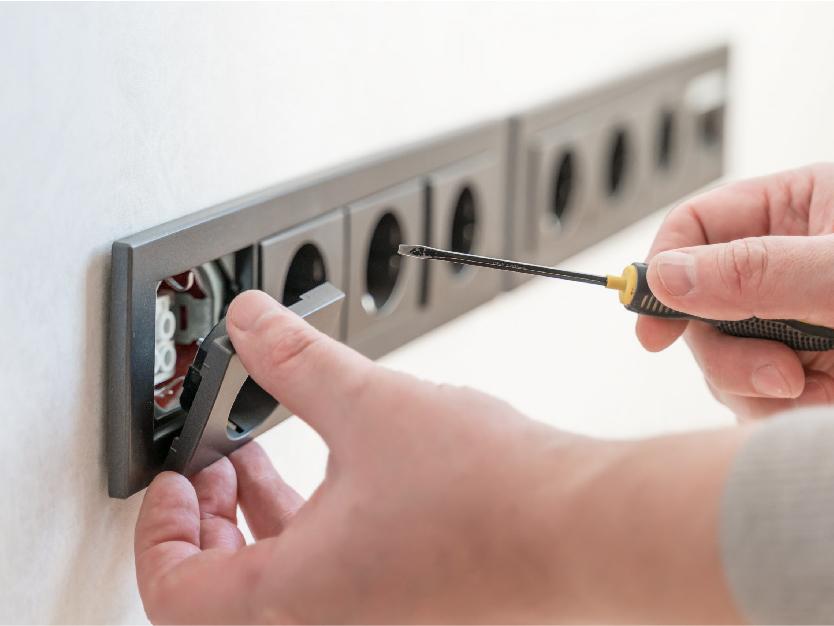 Nos services électricité - homcréa
