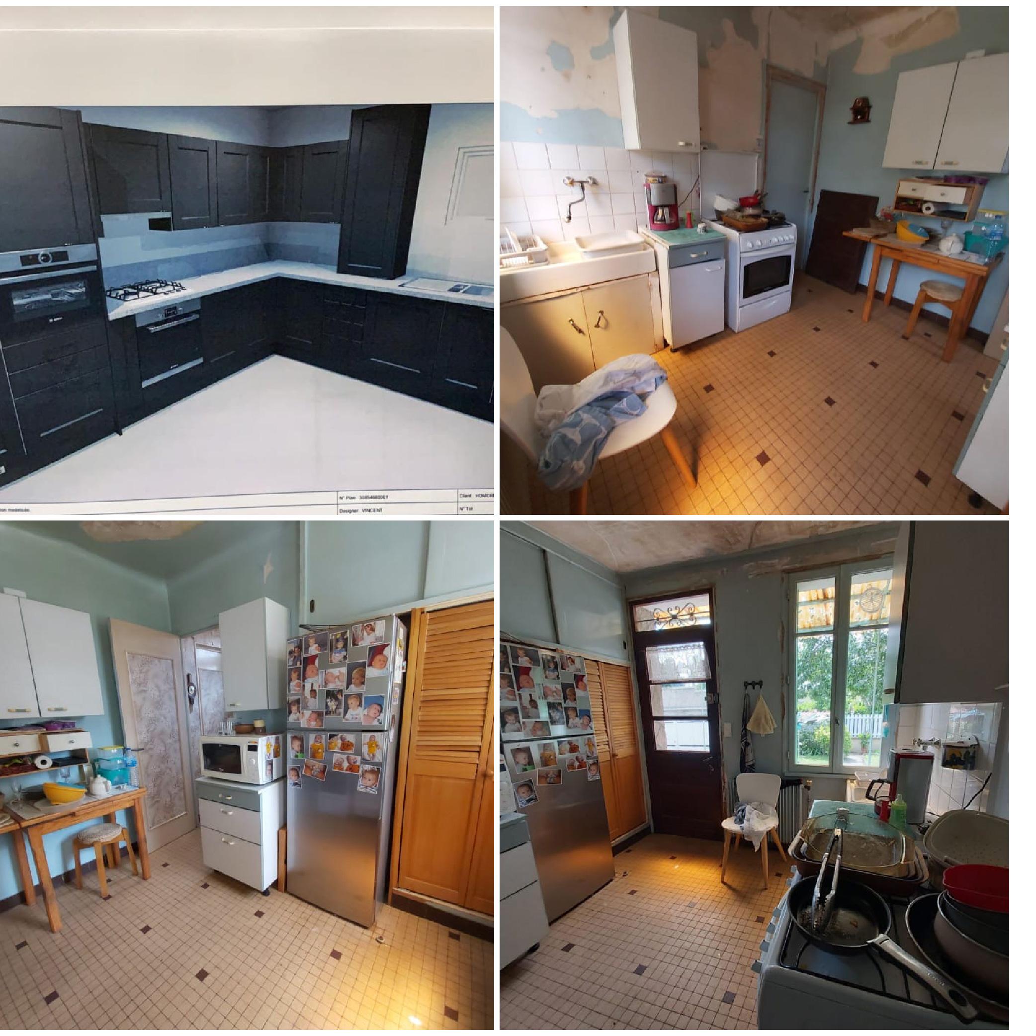 Nos projets de cuisines Homcréa Paris