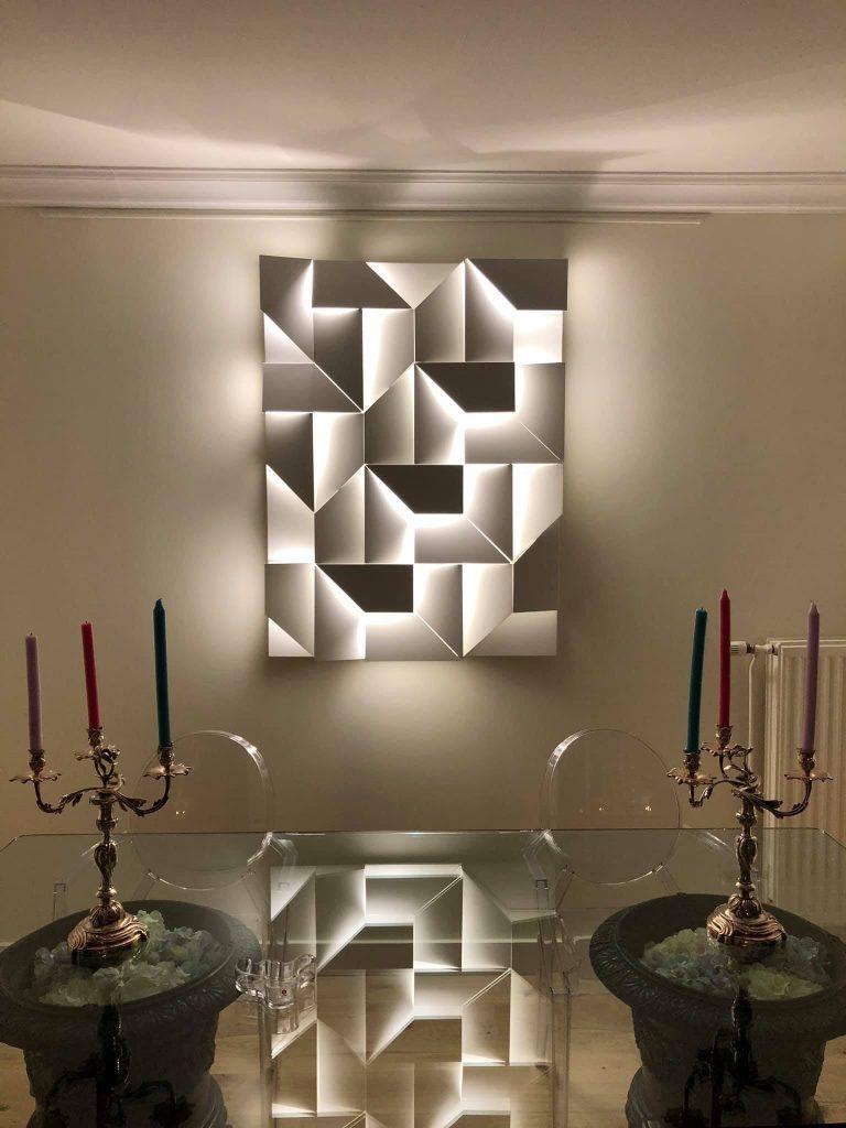 nos réalisation intérieur - décoration luminaire