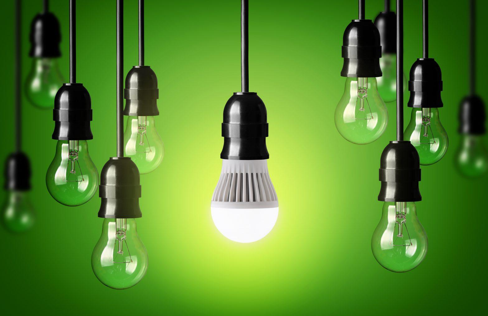 Amoule Led économie d'énergie