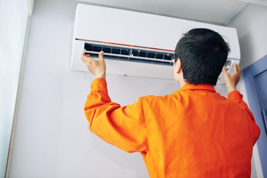 Pose de climatisation réversible